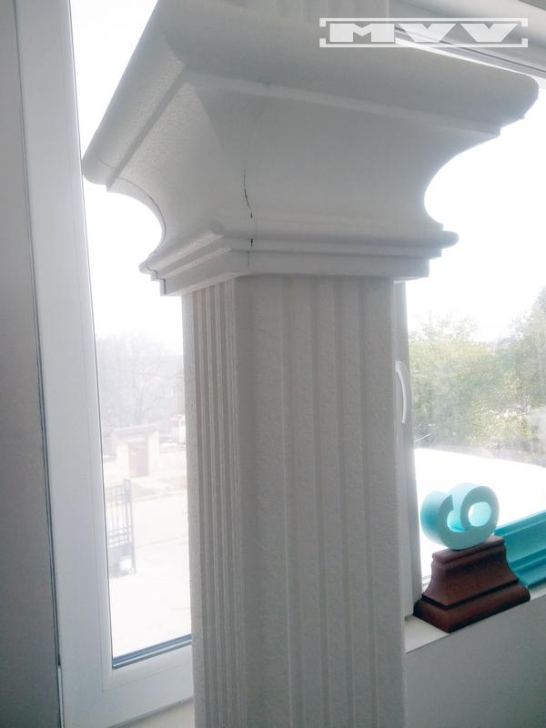 Квадратна колона от стиропор
