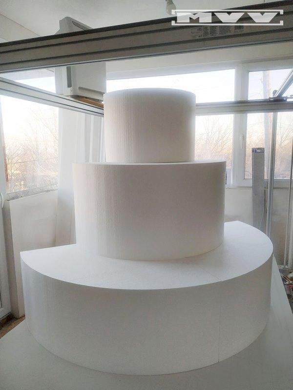 Торта от стиропор